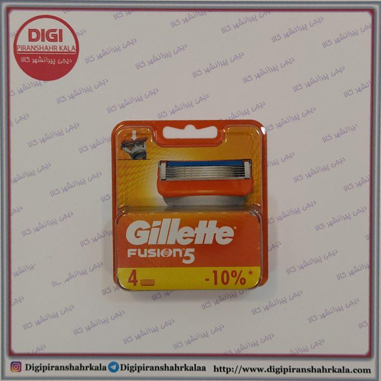 تیغ یدک فیوژن 4 عددی  Gillette Fusion