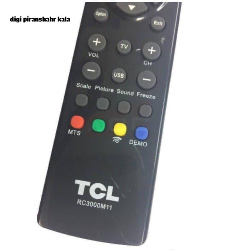 ریموت کنترل TLC مدل RC300M11Remote control TCL RC300M11