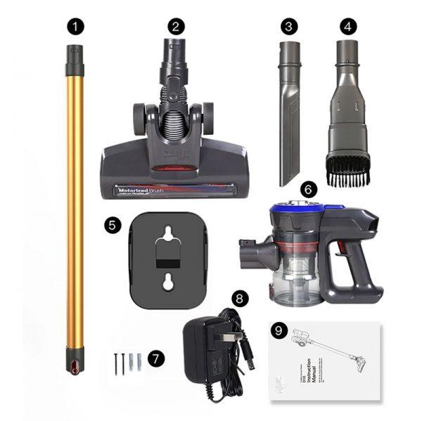 جارو شارژی بوش مدل 1805Rechargeable Vacuum Cleaner Bosch 1805